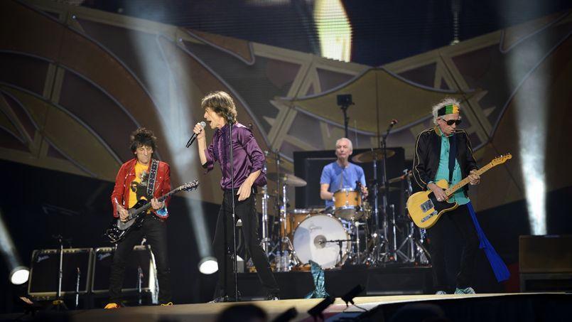 Le stade de France était rempli hier, pour la venue des Rolling Stones à Paris.