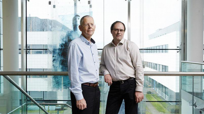 Le Belge Koen Andries et le Français Jérôme Guillemont ont été distingués par l'Office européen des brevets.
