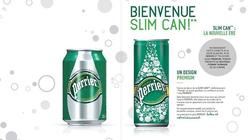 Le nouveau format des canettes reprend celui des boissons énergisantes.