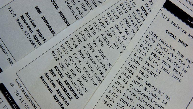 En 2011, le salaire mensuel dans le secteur privé était en moyenne de 2 830 euros bruts et de 2 130 euros nets. (Crédit: Mychele Daniau/AFP)