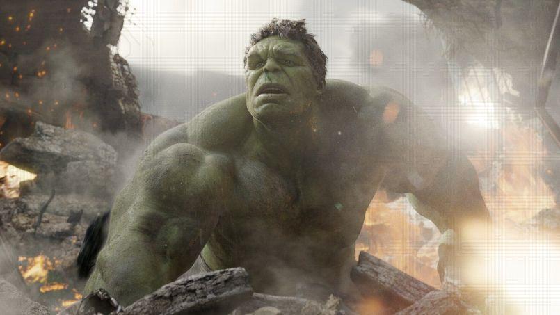 Hulk dans The Avengers, produit par les studios Marvel et réalisé par Joss Whedon, en 2012.