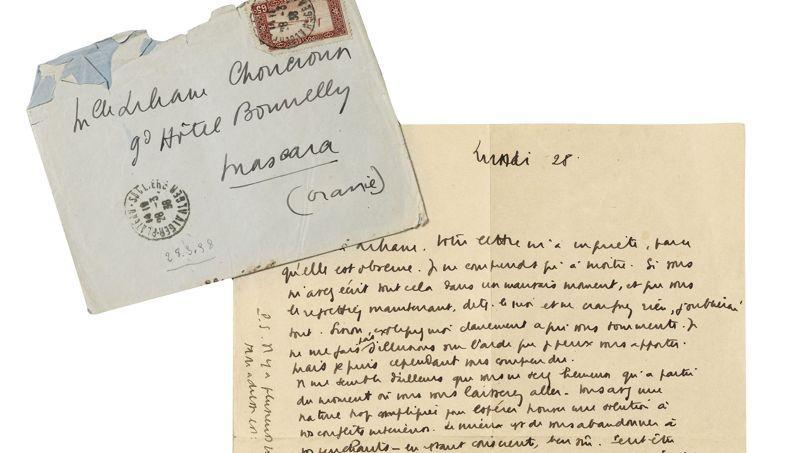 Trente-deux lettres de jeunesse inédites, contenant tous les thèmes de la philosophie de l'écrivain, ont trouvé facilement preneur.