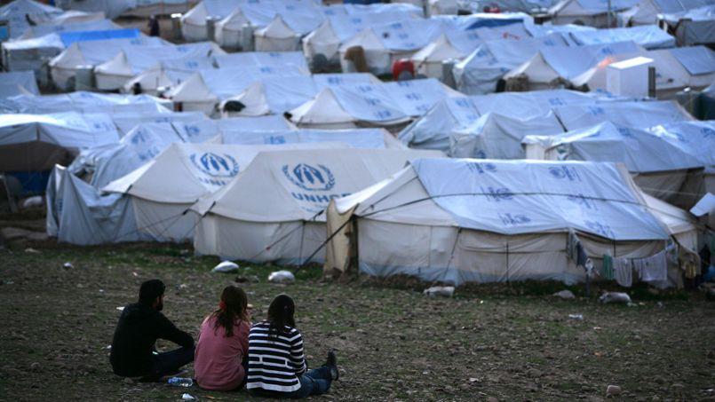 Camp de réfugiés de Quru Gusik, dans la région autonome du Kurdistan irakien