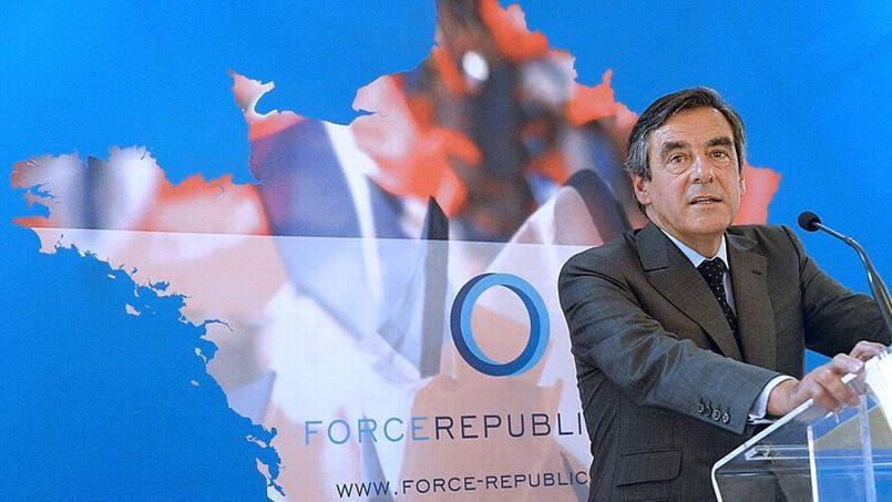 François Fillon, ce mercredi matin, présentant ses propositions pour améliorer la compétitivité de la France.