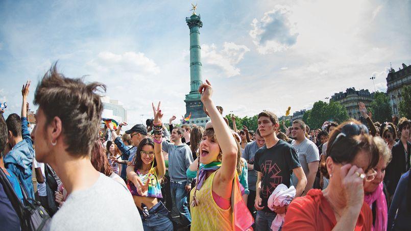 Le CNCDH lance un pavé dans la mare, à la veille de la gay pride parisienne, qui aura lieu ce samedi.