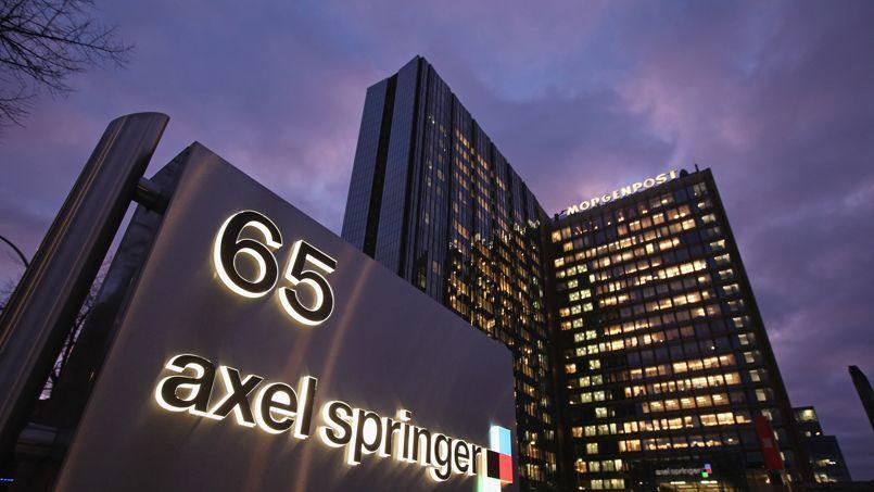 Berlin, le siège du groupe de médias allemand Axel Springer, qui réalise près de la moitié de son chiffre d'affaires dans le digital.