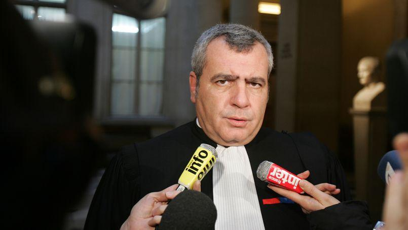 L'avocat de Nicolas Sarkozy, Me Thierry Herzog.