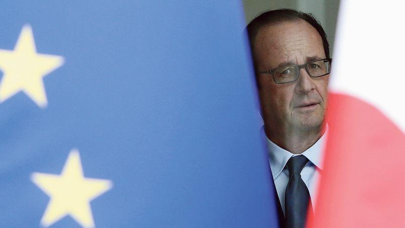 François Hollande, hier à l'Élysée, attend la visite de Horst Seehofer, le ministre-président de Bavière.