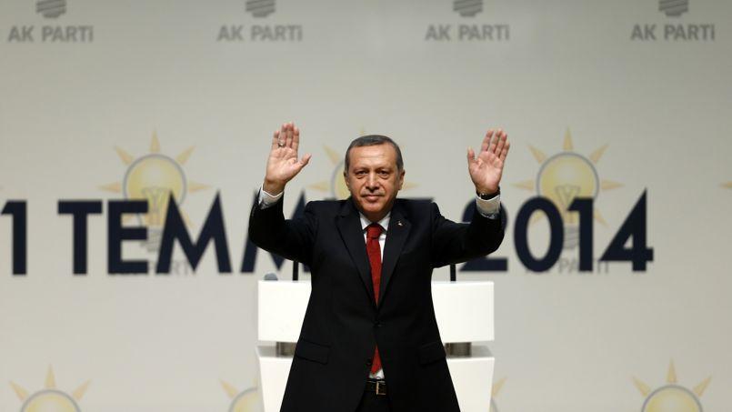Recep Tayyip Erdogan, le 1er juillet à Ankara.
