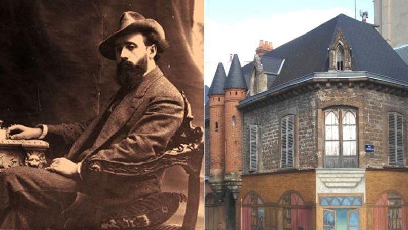 Le journaliste Albert Londres (1884-1932) est né à Vichy le 1er novembre 1884. À droite, sa maison natale.