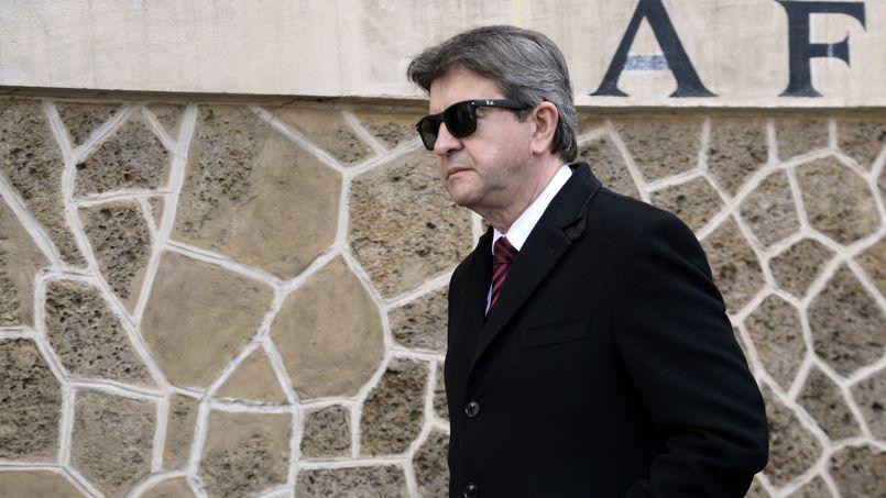 Jean-Luc Mélenchon, en mars.