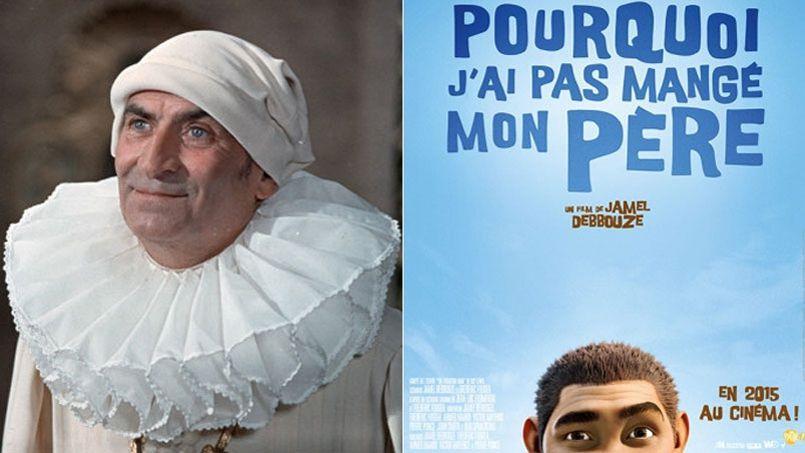Louis de Funès, ressuscité dans le premier film de Jamel Debbouze Pourquoi j'ai mangé mon père.