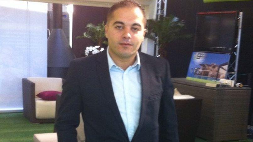 Ahmed Chekhab, l'adjoint chargé des Sports de Vaulx-en-Velin (Rhône). DR Capture Twitter.