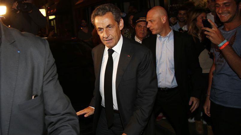 Nicolas Sarkozy mercredi à Paris.