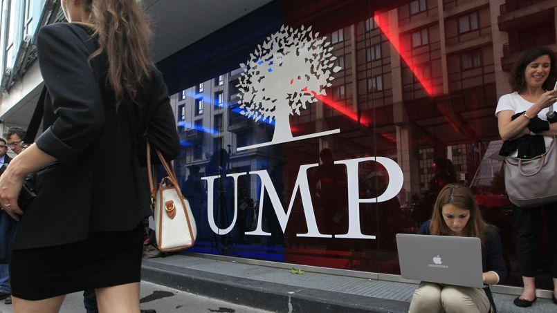 Le siège de l'UMP.