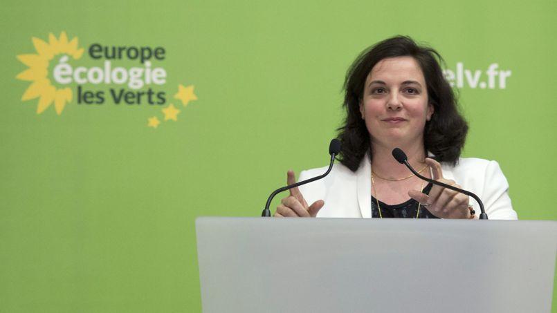 Emmanuelle Cosse, patronne d'EELV.