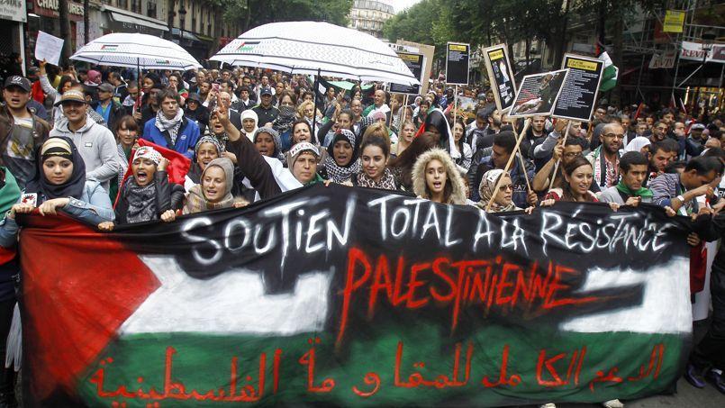 Manifestation à Paris le 13 juillet dernier.