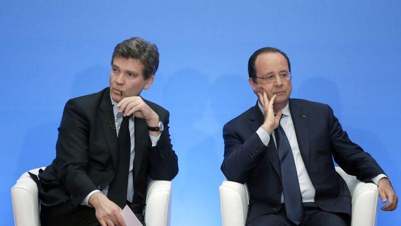 Quand François Hollande critique une proposition d'Arnaud Montebourg
