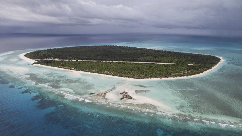 L'île Glorieuses dans l'océan Indien.