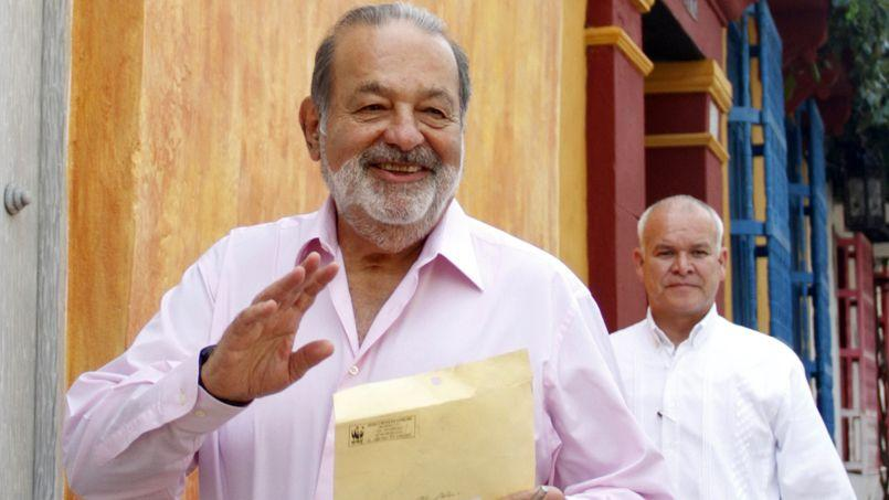 Le multi-milliardaire mexicain Carlos Slim, seconde fortune mondiale.
