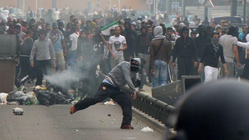 Dimanche à Sarcelles, la manifestation avait tourné à l'émeute.