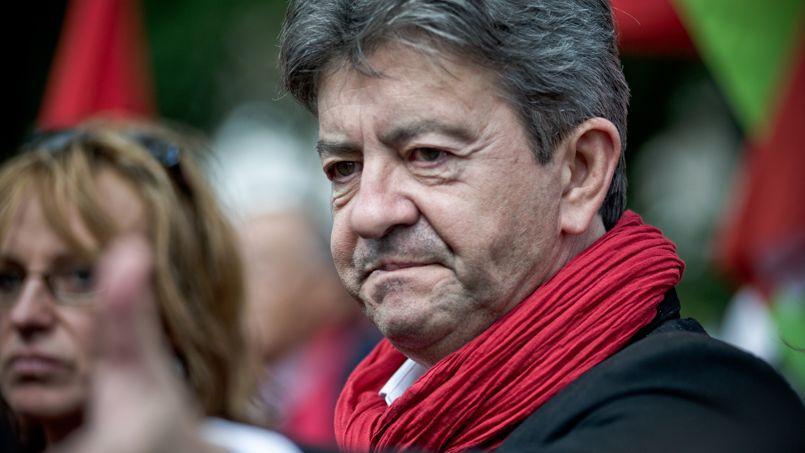 Jean-Luc Mélenchon, lors d'une manifestation à Paris