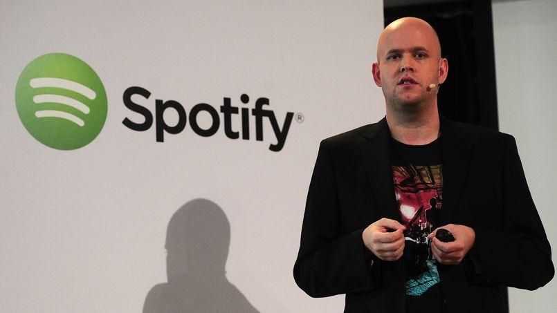 Daniel Ek, le PDG de Spotify.