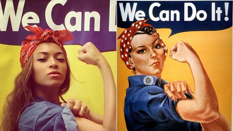 Beyoncé en icône féministe sur Instagram