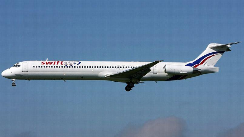 Le MD-83 de SwiftAir