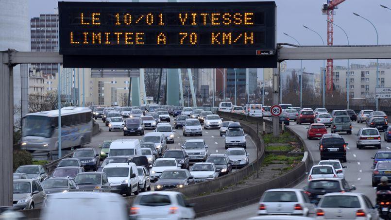 Depuis janvier dernier, la vitesse sur le périphérique parisien est limité à 70 km/h