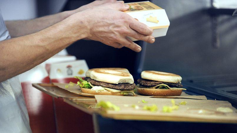 Un restaurant McDonald's à Ramonville-Saint-Agne.
