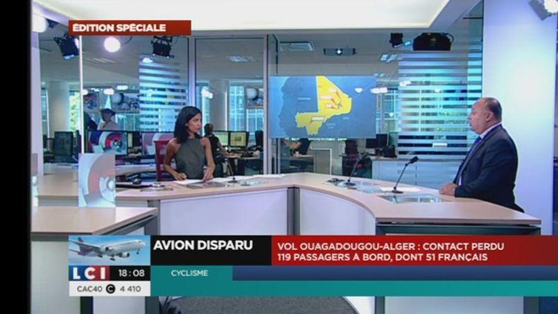 Capture d'écran LCI.
