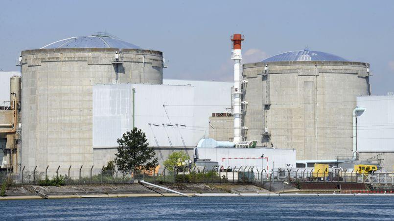 Les débats sur la centrale nucléaire de Fessenheim, qui ne figure pas dans le texte de loi, promettent d'être houleux. Crédits photo: AP / Winfried Rothermel