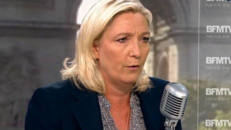 Marine Le Pen renvoie dos à dos Israël et le Hamas