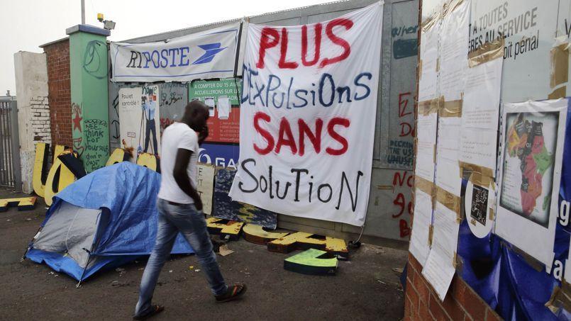 Un des squats de Calais