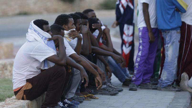 L'afflux d'immigrés érythréens en Italie inquiète particulièrement les autorités françaises.