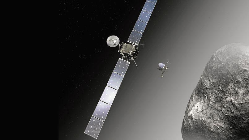 La sonde Rosetta devrait se mettre en orbite autour de la comète 67P ce mercredi à 11h35 précises.