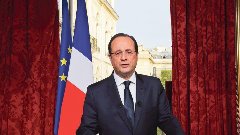 François Hollande, lors de son intervention télévisée du 31 mars.