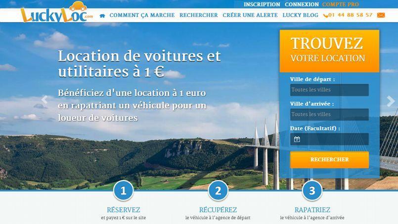 Les sites LuckyLoc.com et Driiveme.com vous proposent des locations de voitures et d'utilitaires à 1€. Crédits photo: DR