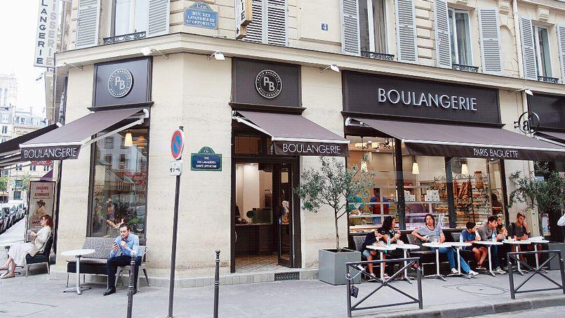 La boulangerie Paris Baguette, à deux pas de la place du Châtelet, à Paris.