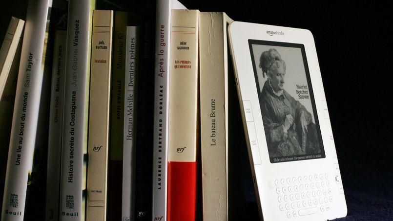 Le Kindle d'Amazon est leader sur le marché des liseuses