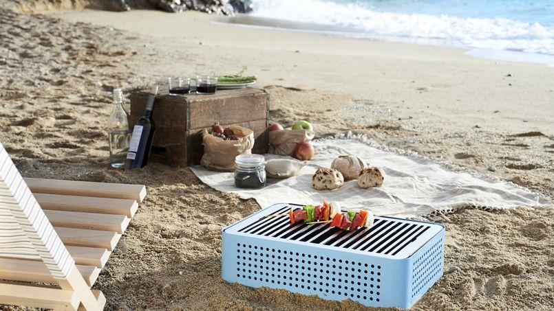 Barbecue de voyage Mon Oncle (dimensions 32 cm X 44 cm X 12 cm) (249€)
