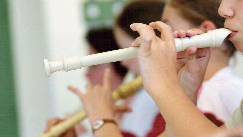 La sortie de l'enseignement de la flûte à bec dans les collèges des programmes scolaires date officiellement de 2008.