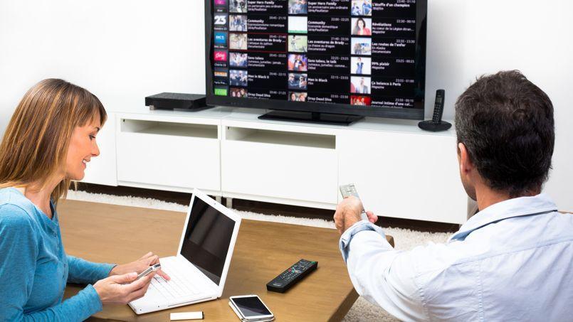 La montée en gamme des opérateurs télécoms passe par un enrichissement de l'offre liée à la télévision.