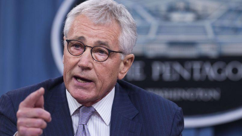 À une question sur l'éventualité de frappes américaines en Syrie, le directeur du Pentagone, Chuck Hagel, a répondu: «nous envisageons toutes les options».