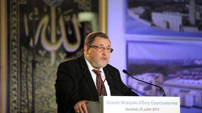 Le recteur de la mosquée d'Evry-Courcouronnes, Khalil Merroun.