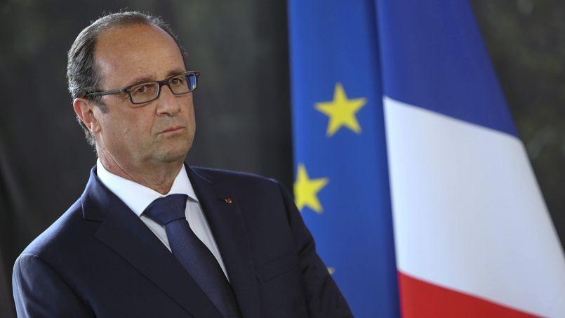 François Hollande à La Réunion, le 21 août.