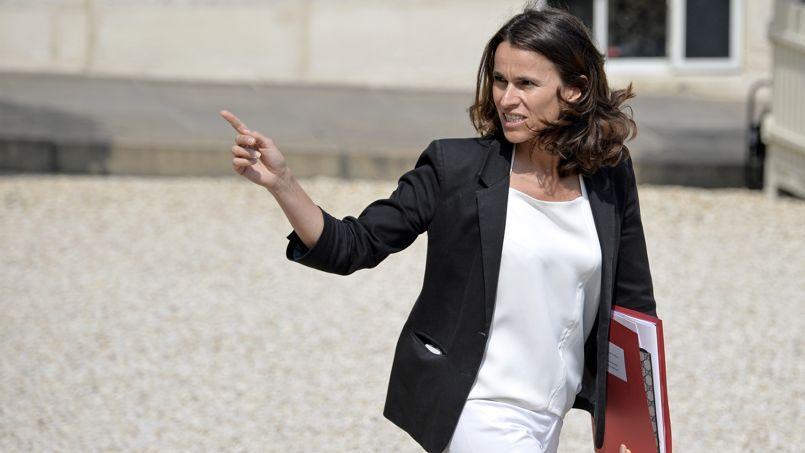 Aurélie Filippetti, ministre de la Culture sortante.