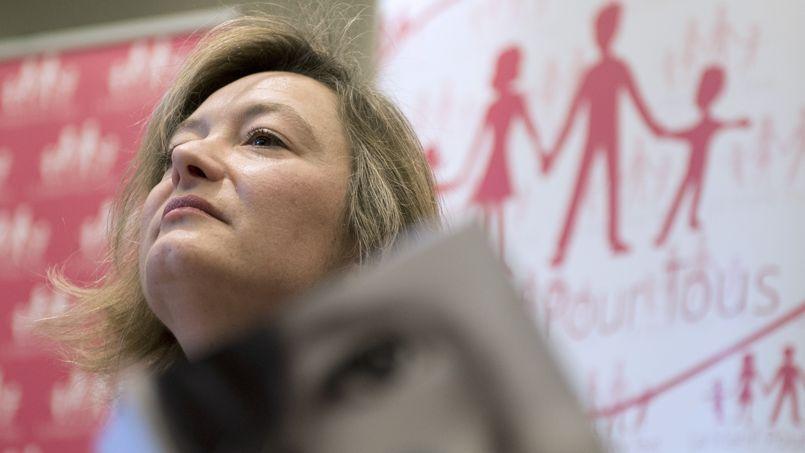 Ludovine de la Rochère au «grenelle de la famille», le 4 mars 2014.