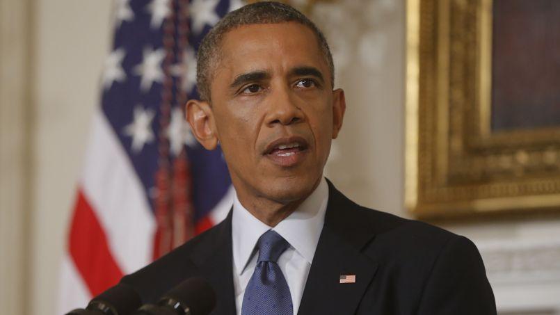 Le président des États-Unis, Barack Obama.